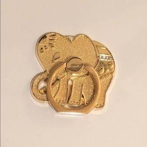 NWOT Lilly Pulitzer Elephant Phone Ring
